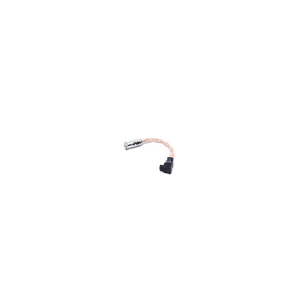 PW AUDIO 3.5mm balanced female to RSA balanced male with OCC wire