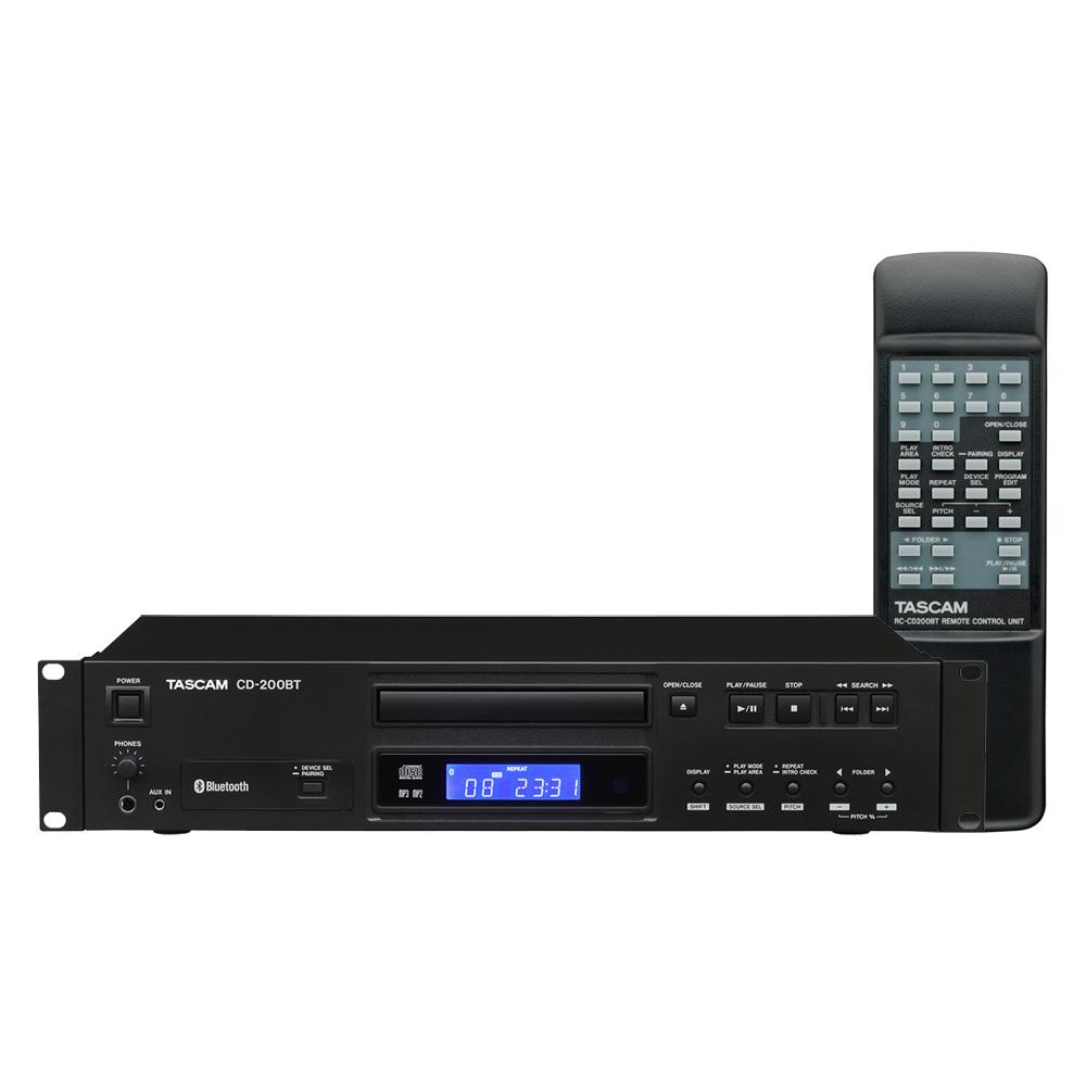 TASCAM CD-200BT Bluetoothレシーバー搭載 業務用CDプレーヤー