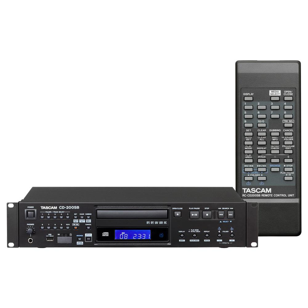TASCAM CD-200SB SD/USBメモリー対応 業務用CDプレーヤー