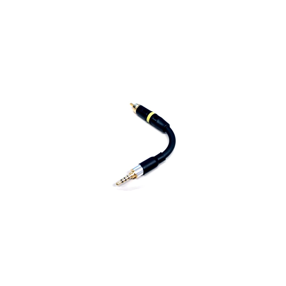 PW AUDIO Ref.1 OFHC 3.5mm TRRS to RCA(Fiio gen2 player) デジタル信号ケーブル