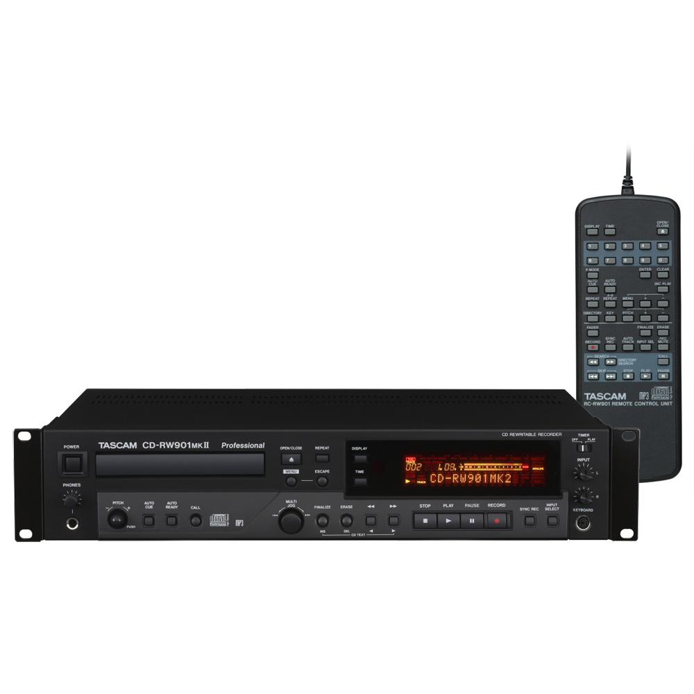 TASCAM CD-RW901MKII CDレコーダー プレーヤー