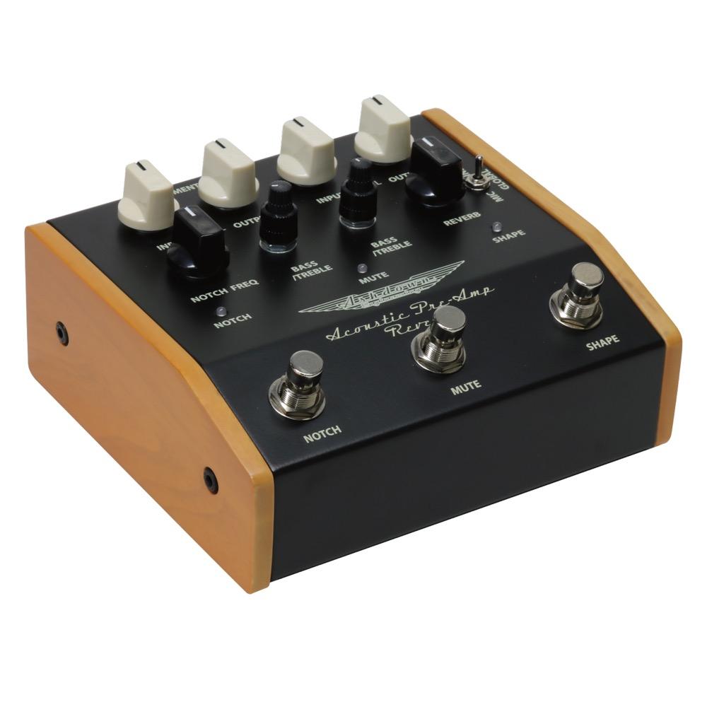 Ashdown Woodsman Acoustic Pre-amp Reverb Pedal アコースティック用 エフェクター プリアンプ リバーブ