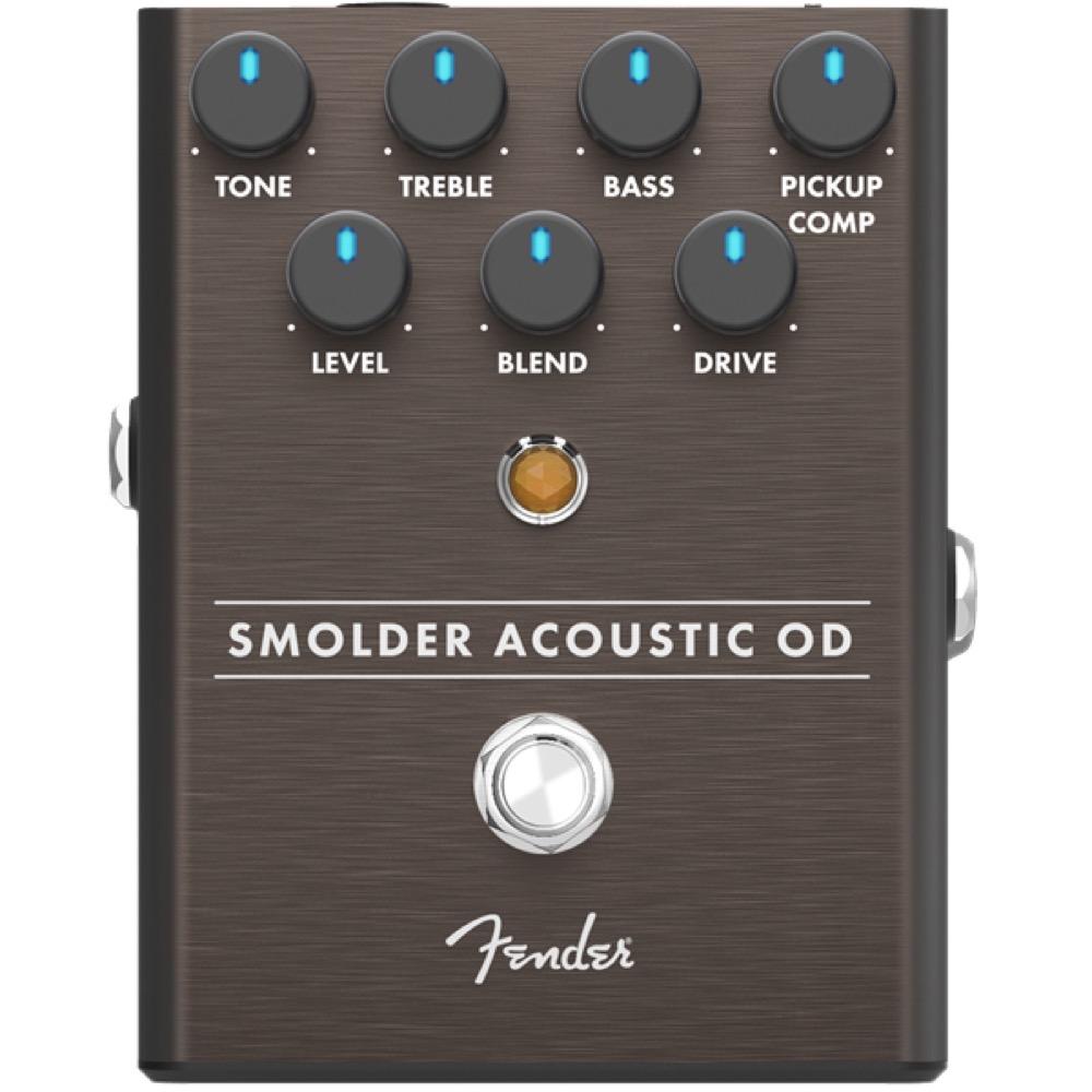 Fender Smolder Acoustic Overdrive ギターエフェクター