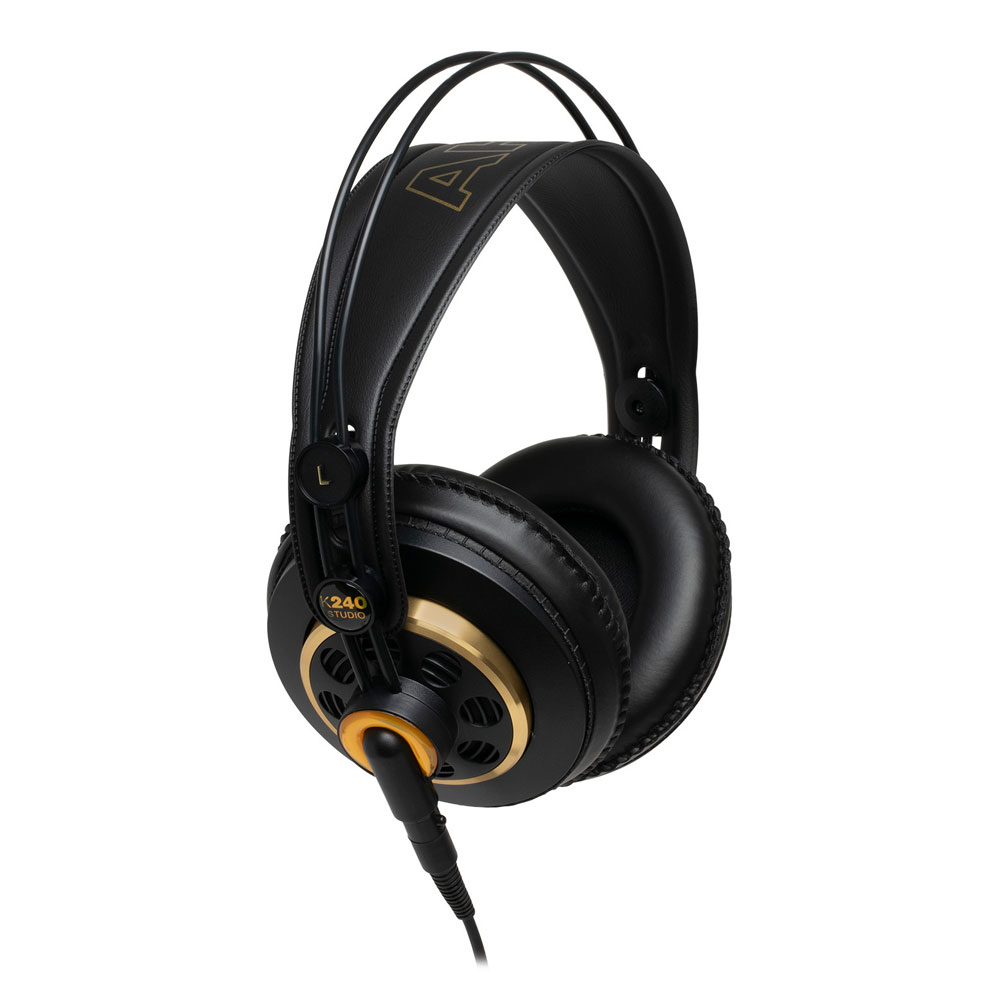 優れた音質 装着感 耐久性を実現した半開放型ヘッドホン 最新号掲載アイテム AKG 品質検査済 モニターヘッドホン K240 スタジオヘッドホン STUDIO-Y3 ヒビノ扱い 3年保証モデル セミオープンエアー型