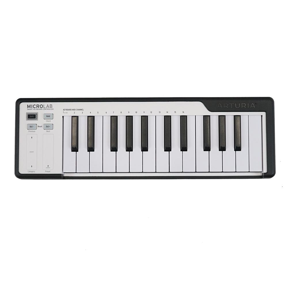 ARTURIA MICROLAB BK 25鍵盤 USB MIDIキーボード