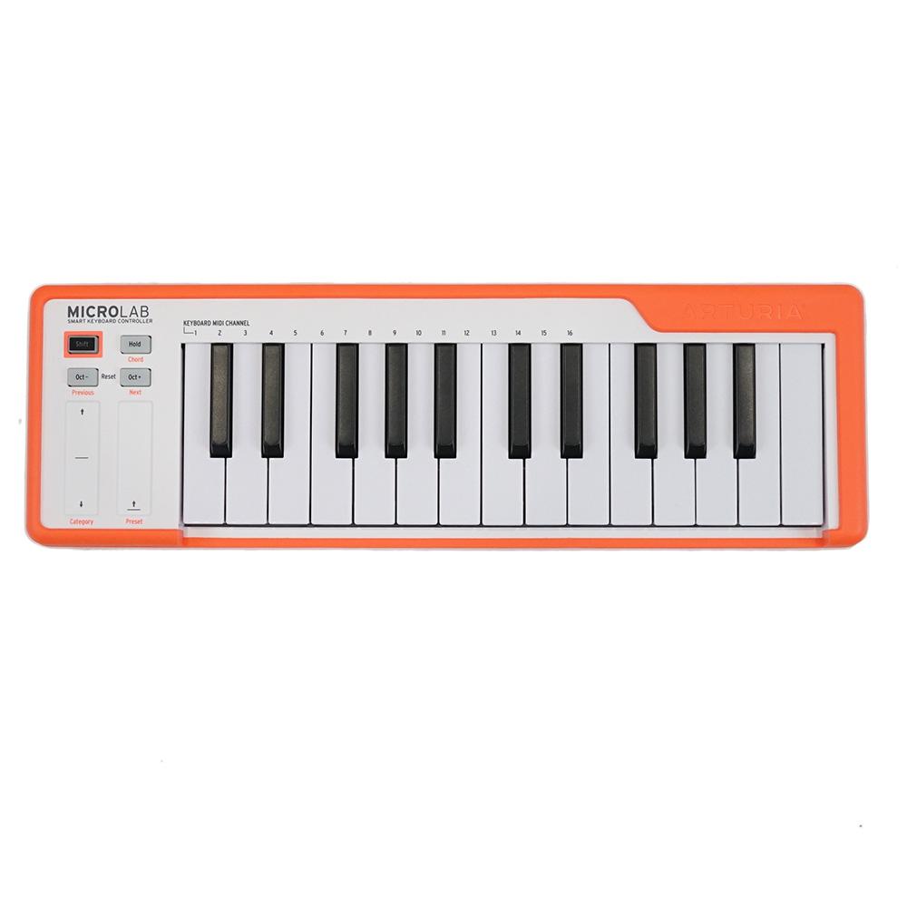 ARTURIA MICROLAB OR 25鍵盤 USB MIDIキーボード