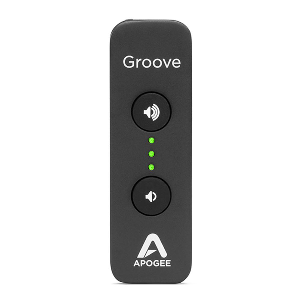 Apogee GROOVE USB DAC and headphone Amp ヘッドホンアンプ 【Black Friday Limited Promotion 価格】