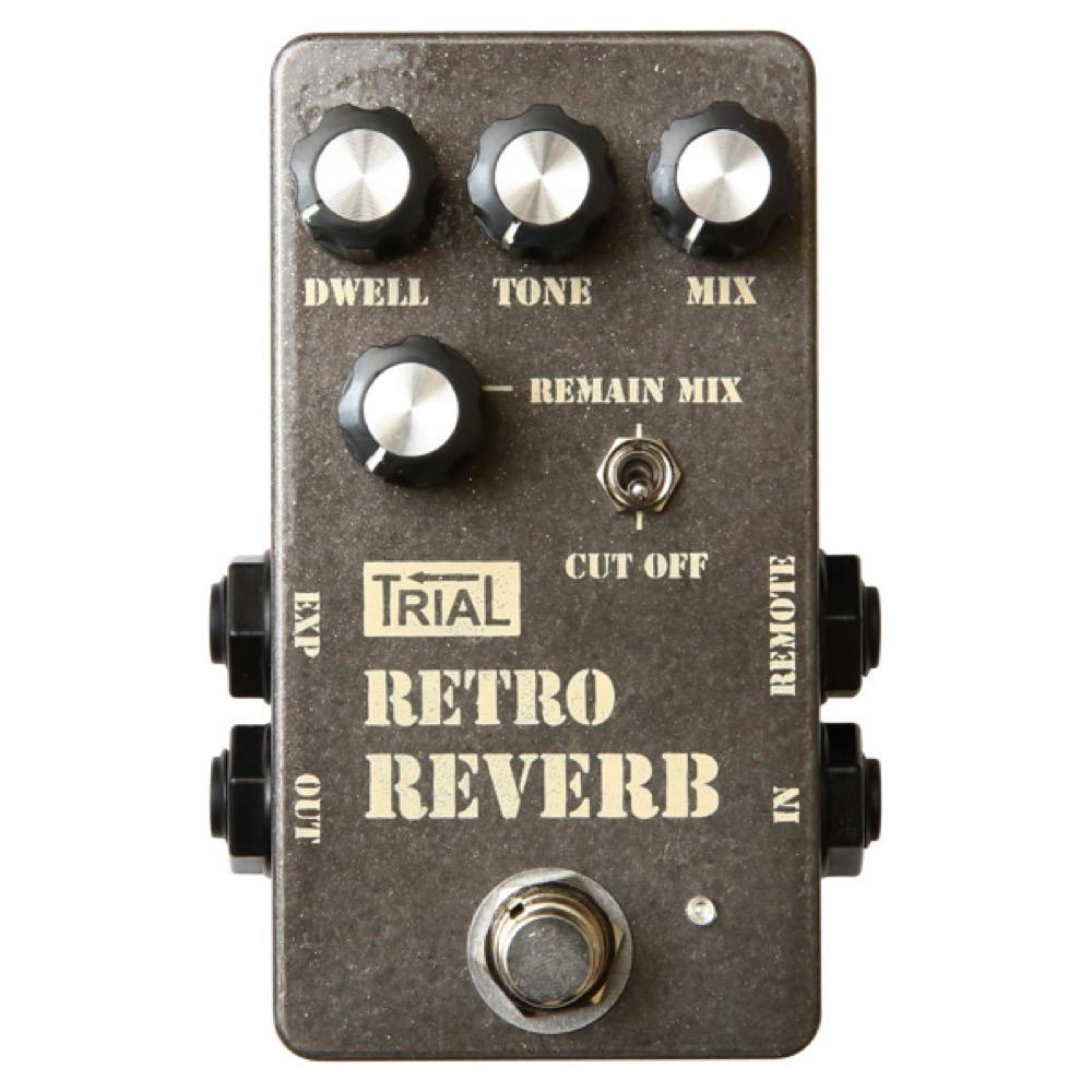 TRIAL Retro Reverb ギターエフェクター リバーブ
