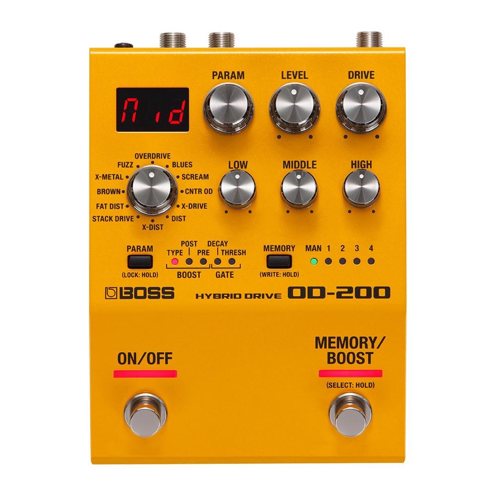 BOSS OD-200 Hybrid Drive オーバードライブ ギターエフェクター