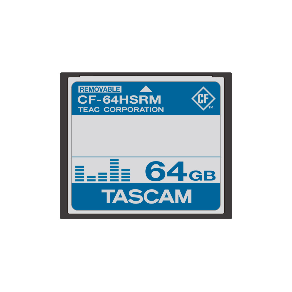 TASCAM CF-64HSRM 64GB CFカード
