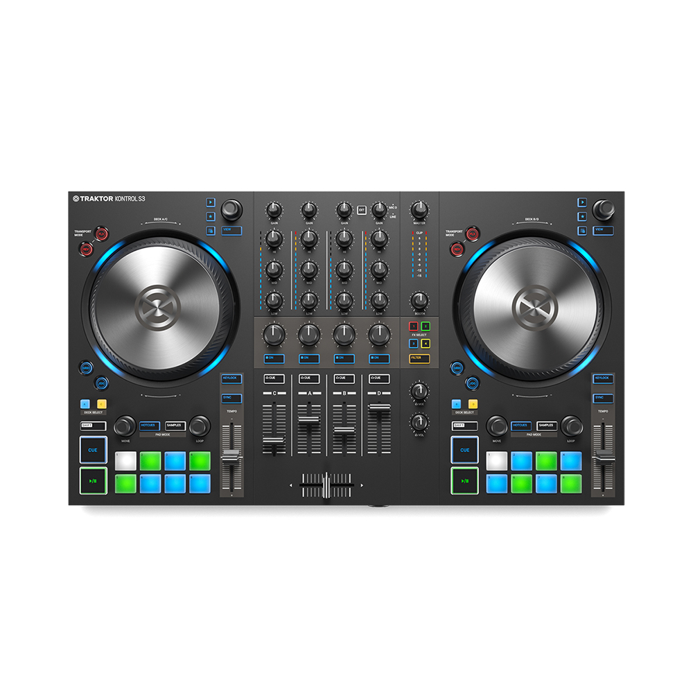 NATIVE INSTRUMENTS TRAKTOR KONTROL S3 DJコントローラー