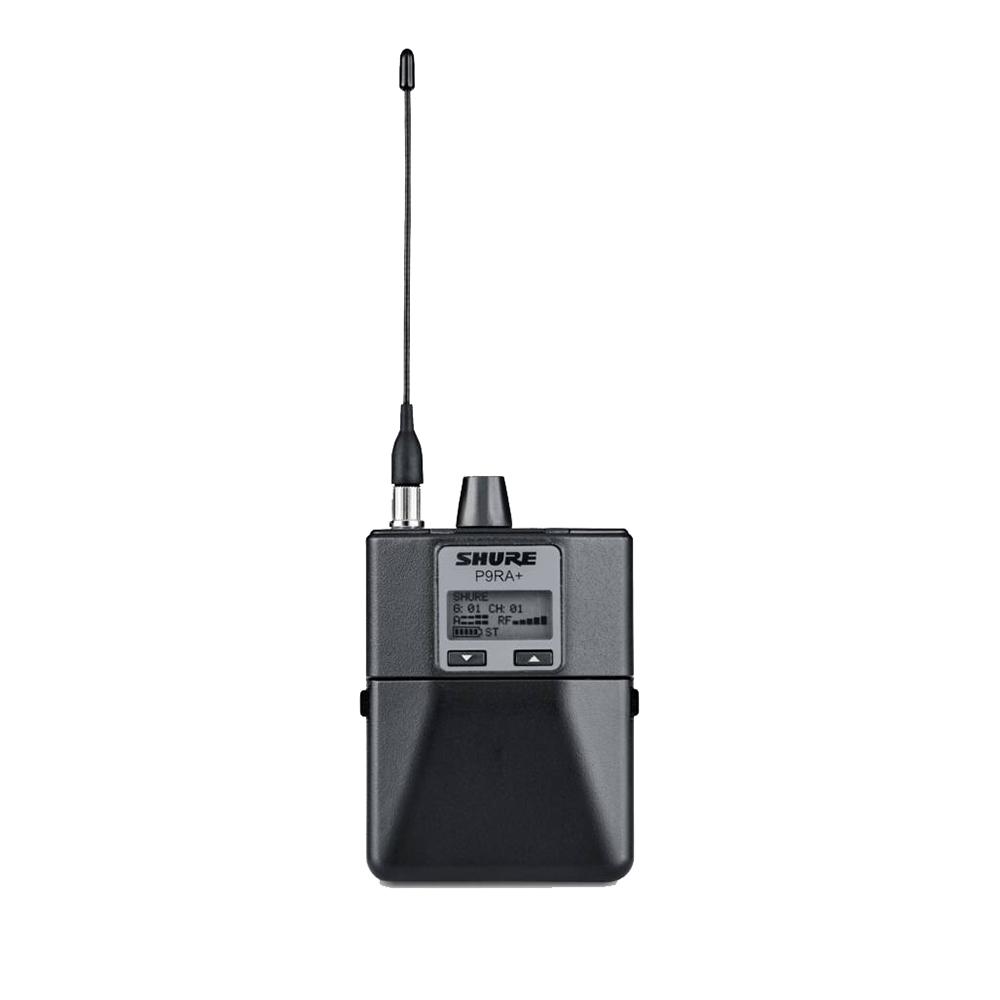 SHURE P9RA+-K1J インイヤー・モニターシステム ボディーパック型受信機