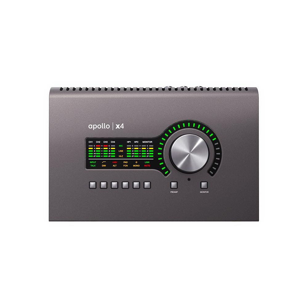 Universal Audio Apollo x4 オーディオインターフェイス