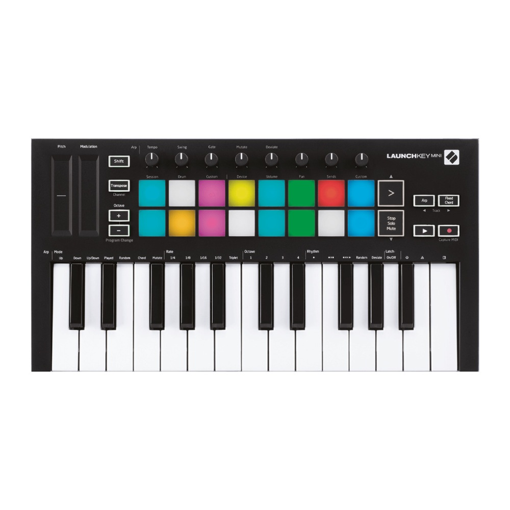 novation LAUNCHKEY MINI MK3 MIDIキーボード コントローラー