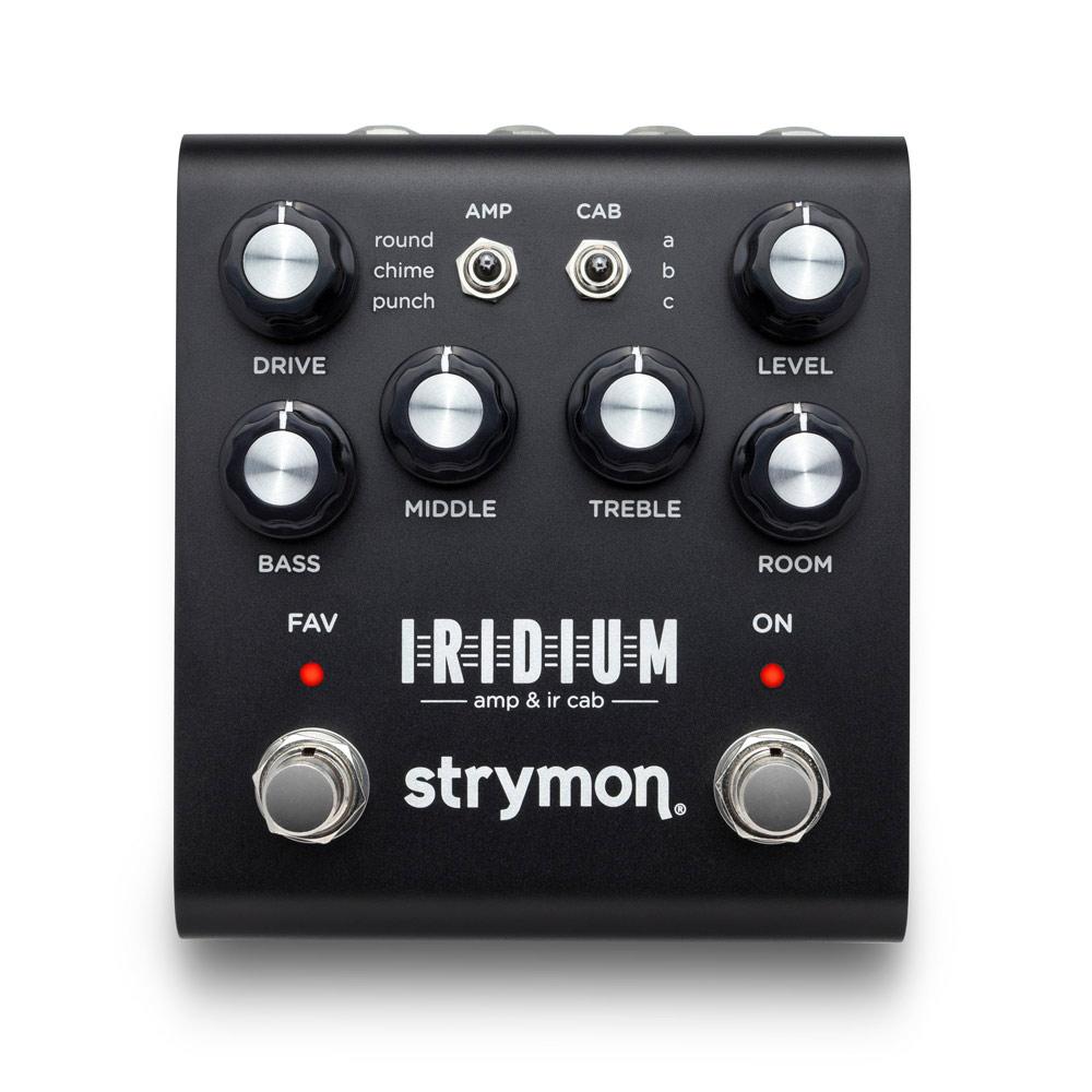 Strymon IRIDIUM AMP & IR CAB エミュレーター
