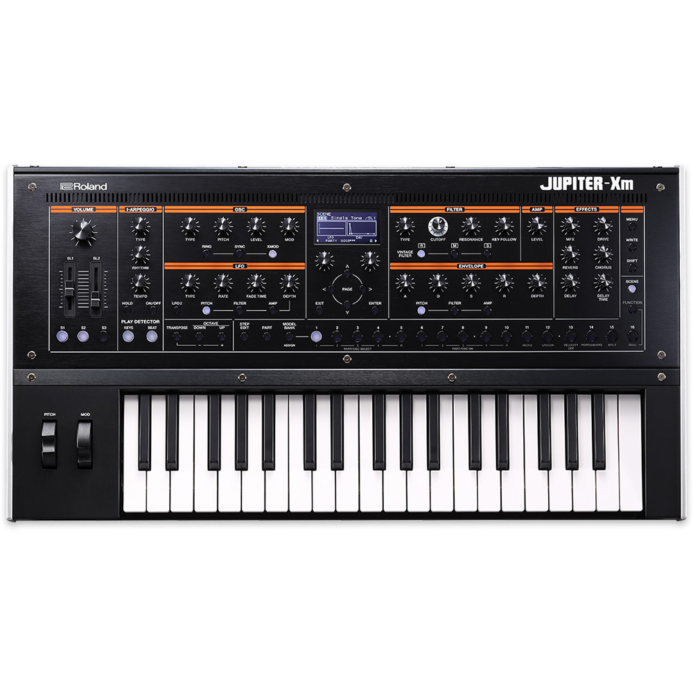 ROLAND JUPITER-Xm Synthesizer シンセサイザー