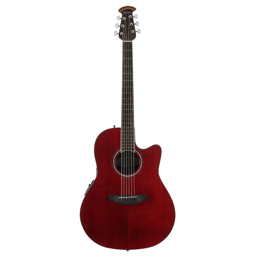OVATION CS24-RR Ruby Red エレクトリックアコースティックギター