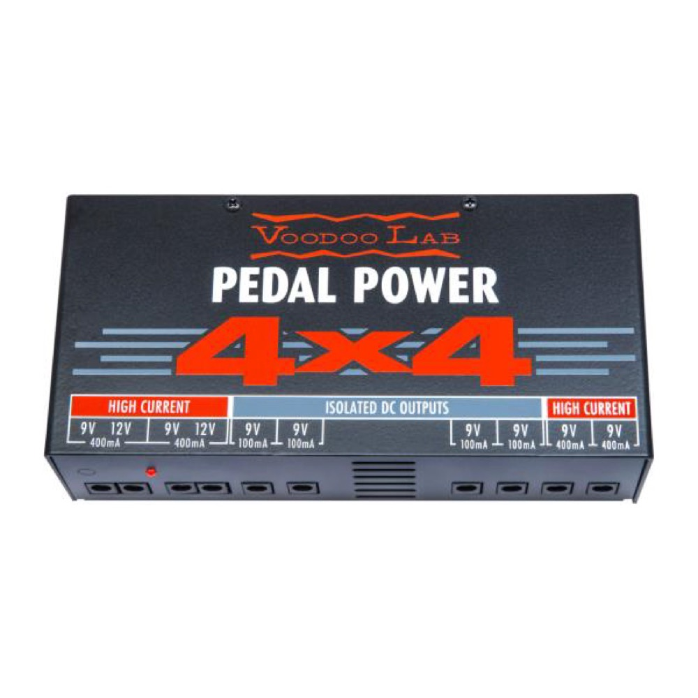 VooDooLab PEDAL POWER 4X4 パワーサプライ