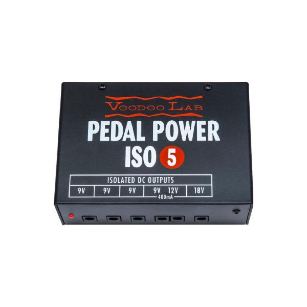 VooDooLab PEDAL POWER ISO-5 パワーサプライ