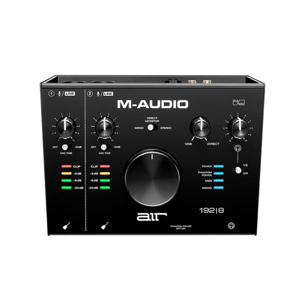 M-AUDIO AIR 192|8 2in/4out USBオーディオインターフェイス