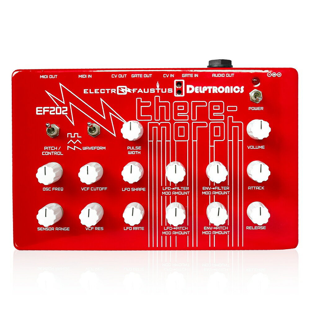 Electro-Faustus EF202 Theremorph Red ギターエフェクター