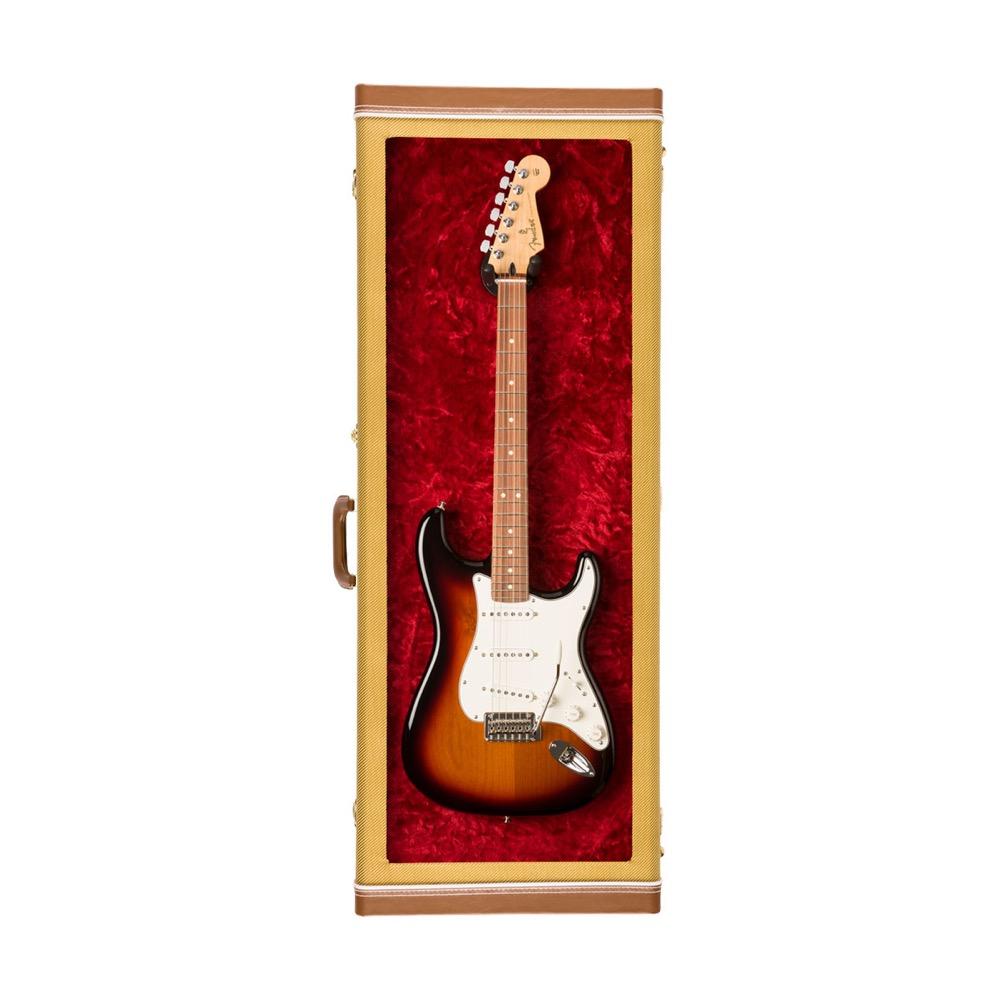 フェンダー アクリルウィンドウ ギター ディスプレイケース Fender Guitar Display Case Tweed アクリルウィンドウ ディスプレイケース