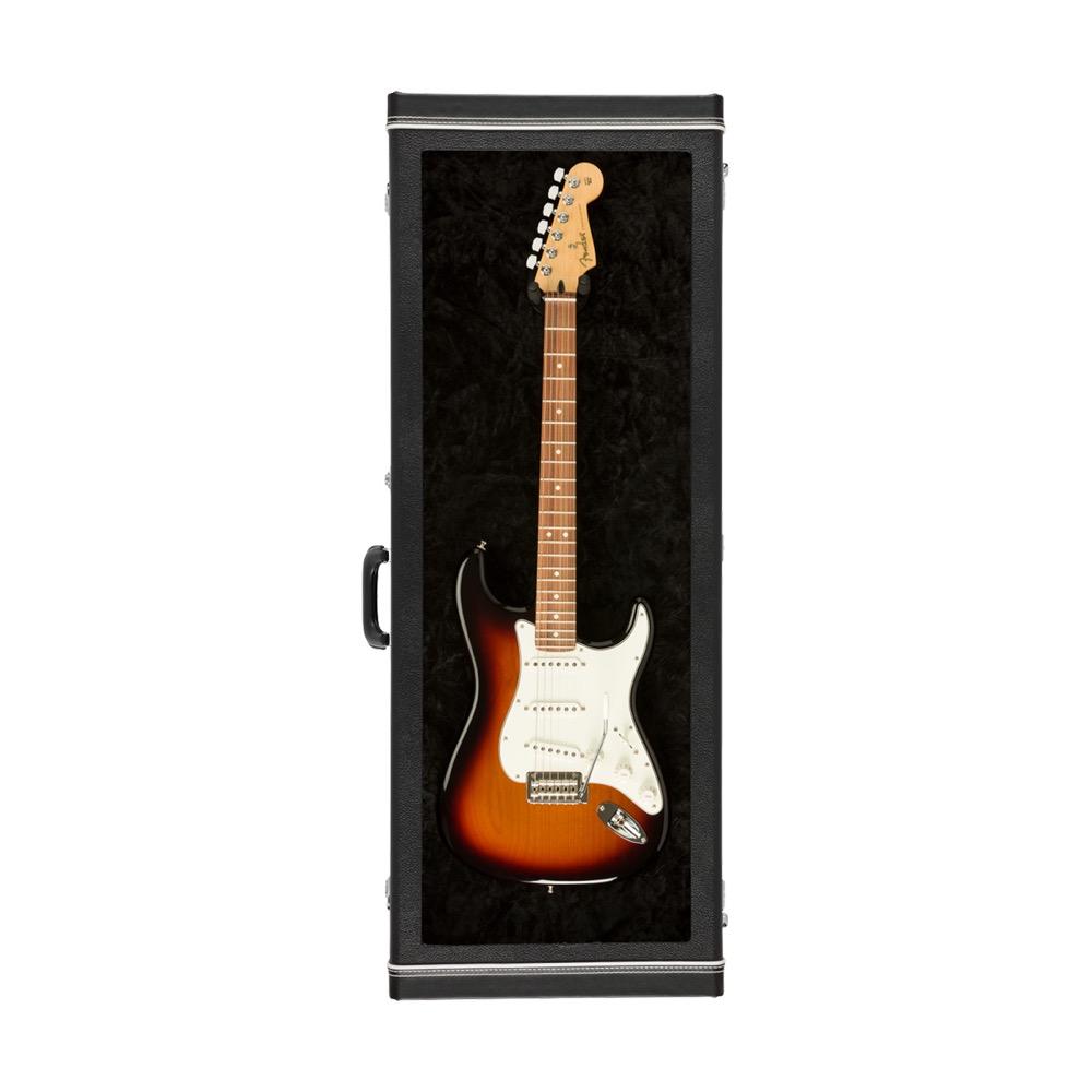 フェンダー アクリルウィンドウ ギター ディスプレイケース Fender Guitar Display Case Black アクリルウィンドウ ディスプレイケース