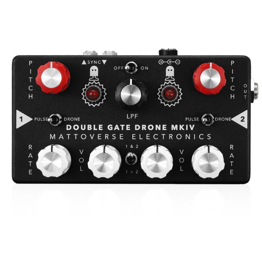 Mattoverse Electronics Double Gate Drone Synthesizer MK IV ノイズマシン シンセサイザー