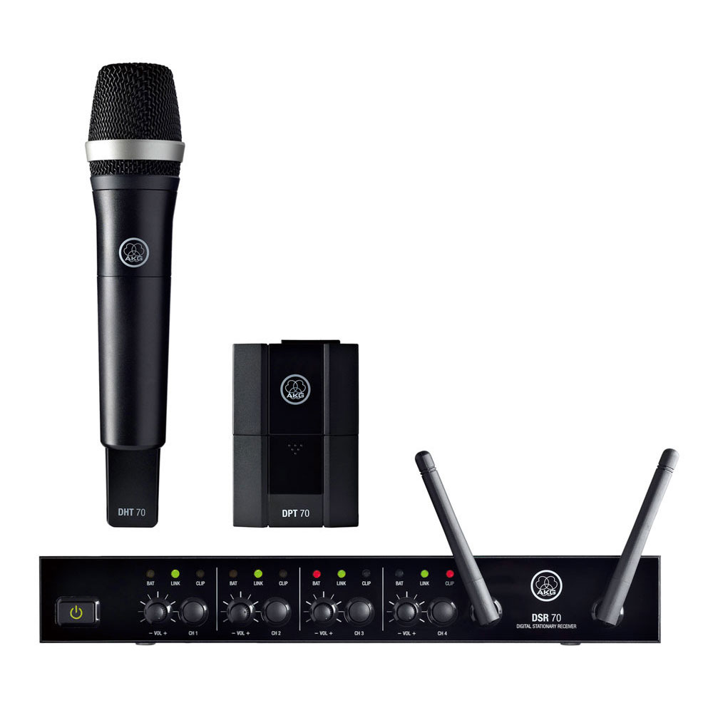 AKG DMS70 QUATTRO VOCAL/INSTRUMENTAL M-SET ワイアレスセット アウトレット