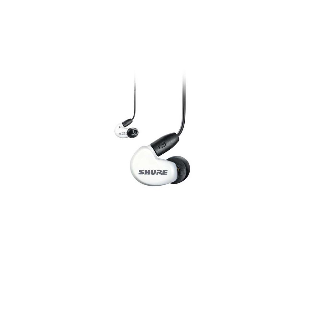 SHURE SE215SPE-W+UNI-A Special Edition 高遮音性イヤホン ユニバーサルケーブル