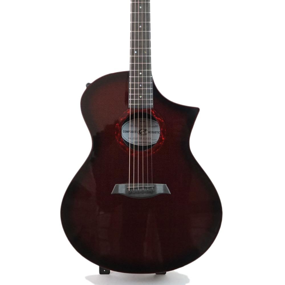 Composite Acoustics CA GX Wine Red Burst Narrow TA エレクトリックアコースティックギター