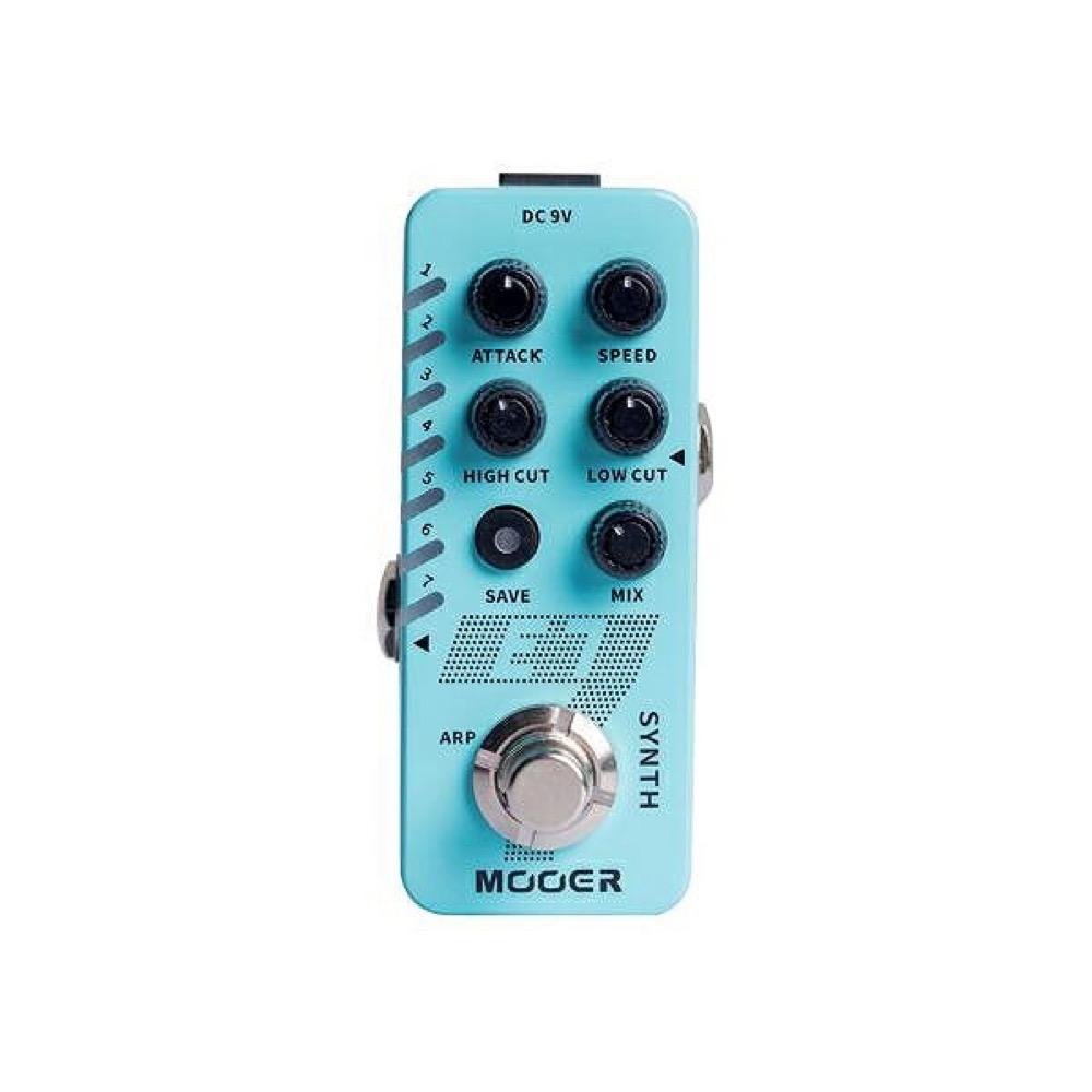 Mooer E7 ギターシンセサイザー ギターエフェクター