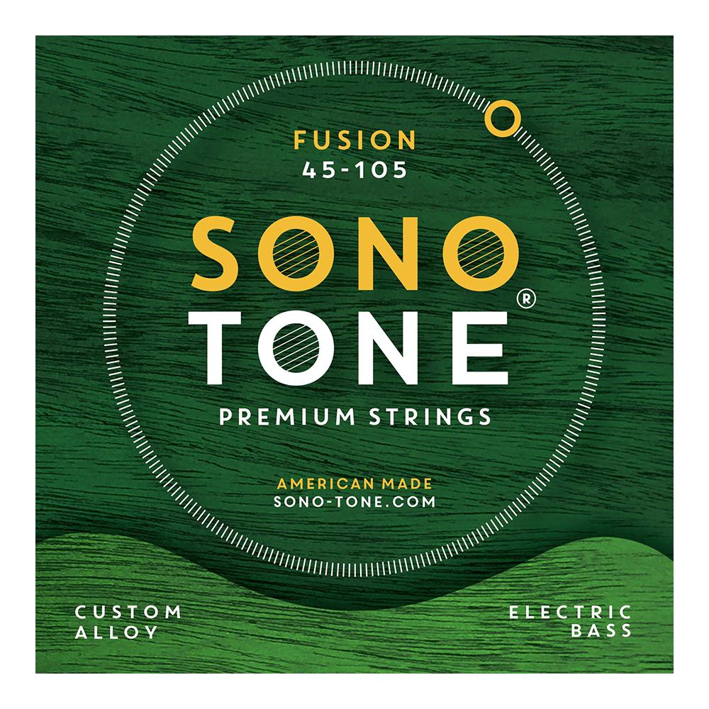 SONOTONE STRINGS FUSION BASS 45-105 カスタム合金 エレキベース弦