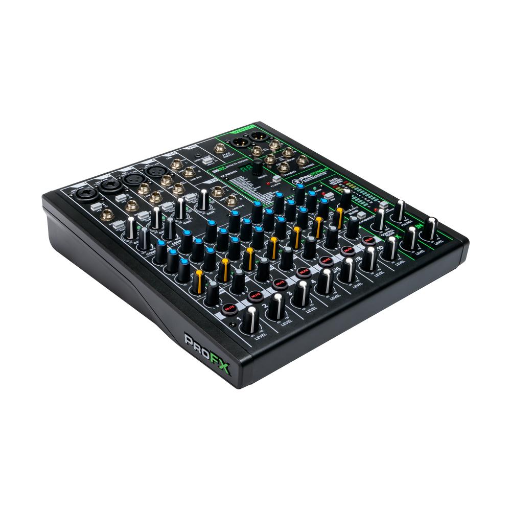 MACKIE ProFX10v3 10チャンネル エフェクター内臓 USBインターフェイス機能付き ミキサー