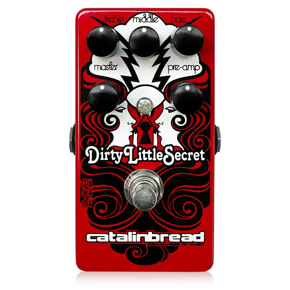 Catalinbread Dirty Little Secret Red ギターエフェクター