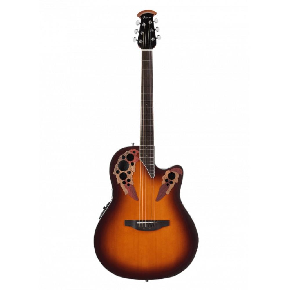 OVATION Celebrity Elite Super Shallow CE48 1 SUNBURST エレクトリックアコースティックギター