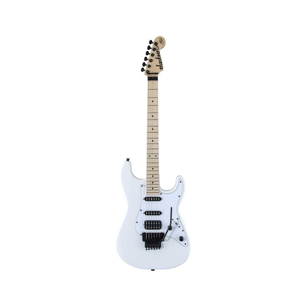 Jackson X Series Signature Adrian Smith San Dimas SDXM Snow White with White Pickguard エレキギター