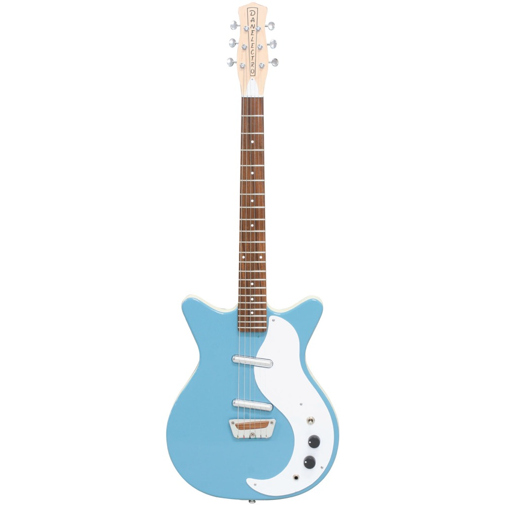 Danelectro Guitar STOCK'59 AQUAMARINE エレキギター