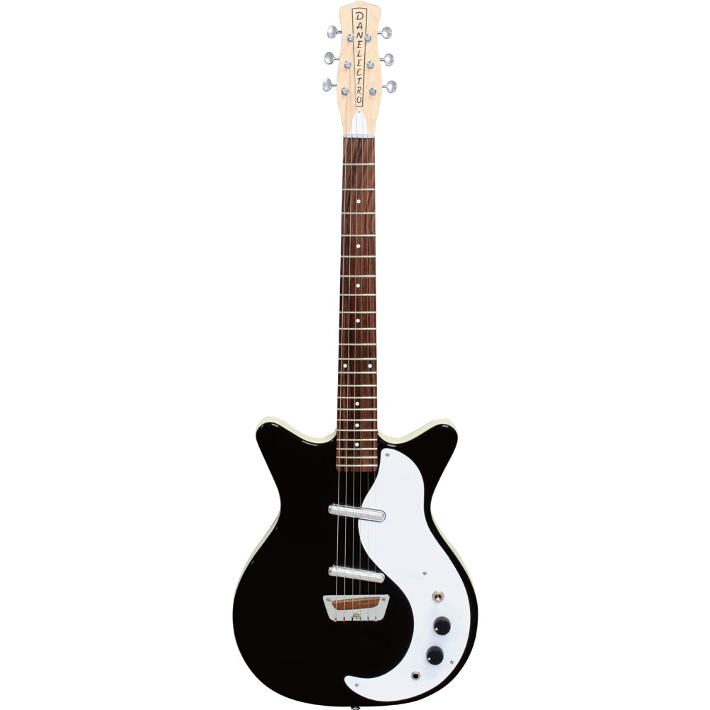 Danelectro Guitar STOCK'59 BLACK エレキギター