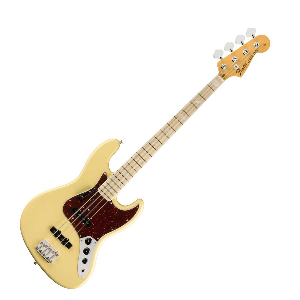 Fender American Original '70s Jazz Bass Maple Fingerboard Vintage White エレキベース