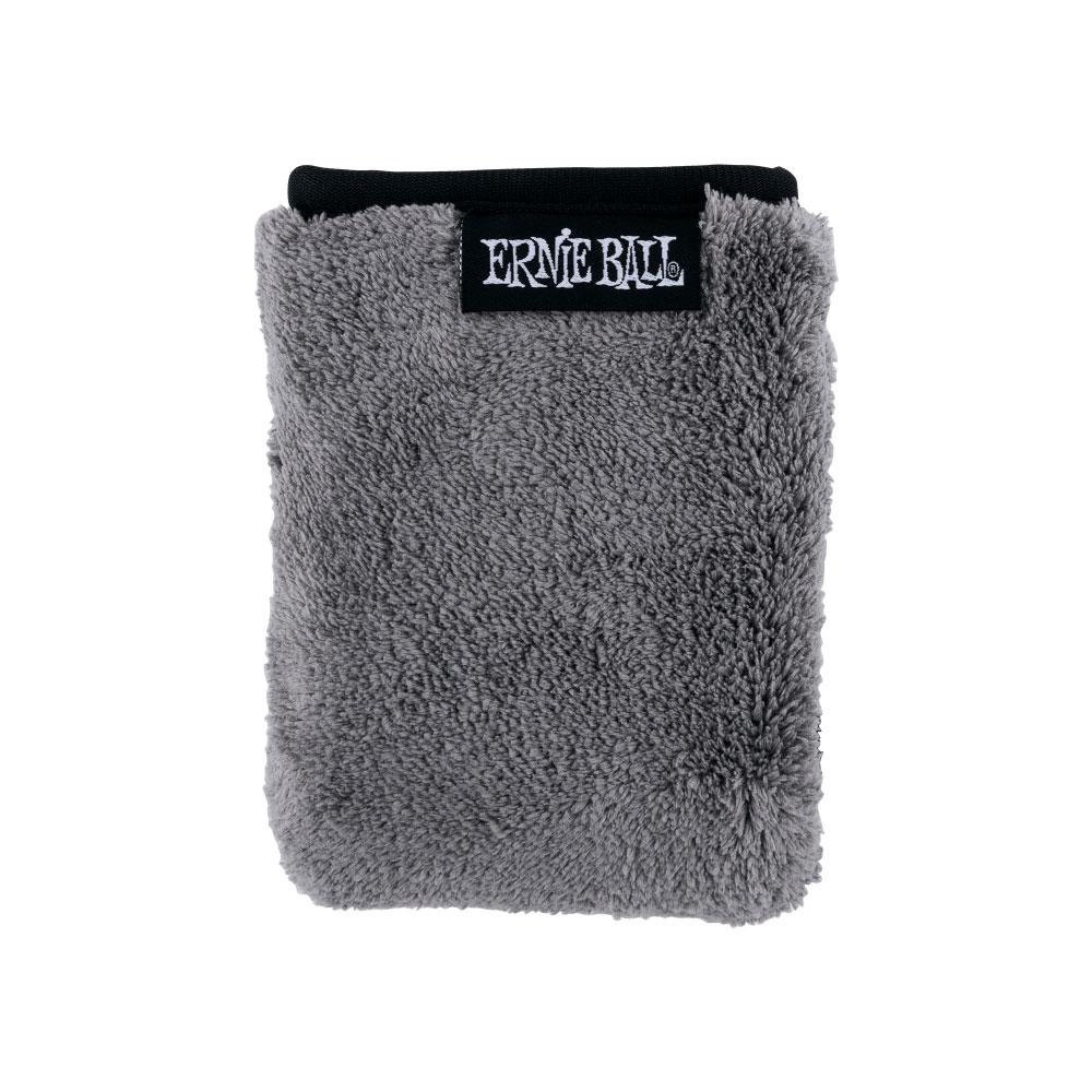 アーニーボール プラッシュ マイクロファイバー クロス 高価値 ERNIE BALL EB x Ultra-Plush CLOTH 12