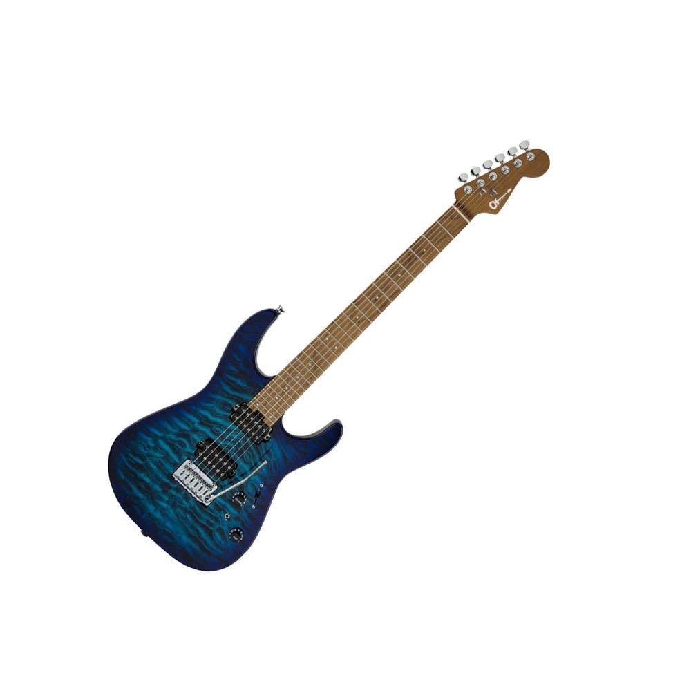 CHARVEL Dinky DK24 HH 2PT CM QM CHLORINE BURST エレキギター