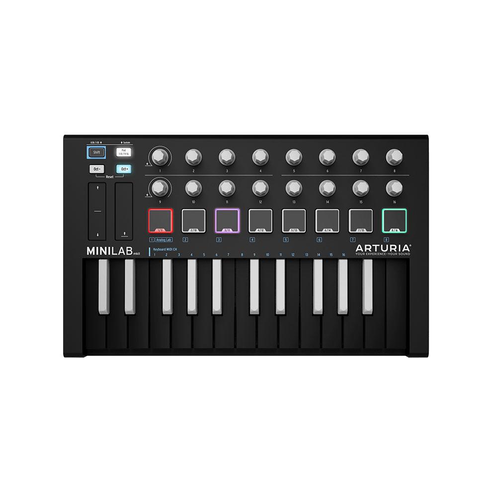 ARTURIA MiniLab MKII INVERTED USB/MIDIキーボード コントローラー 【バンドルソフト付き】限定カラー
