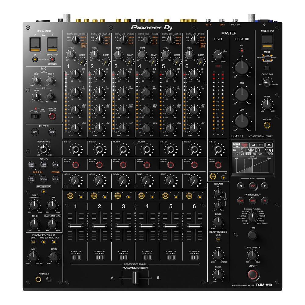 プロフェッショナルDJミキサー DJM-V10 6ch DJ 6channel Pioneer MIXER