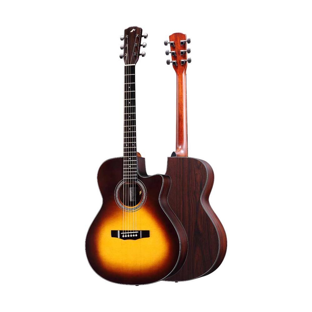 MORRIS R-14 BS エレクトリック アコースティックギター