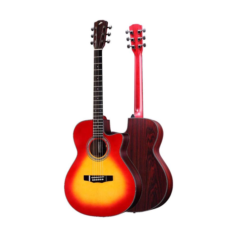 MORRIS R-14 CS エレクトリック アコースティックギター