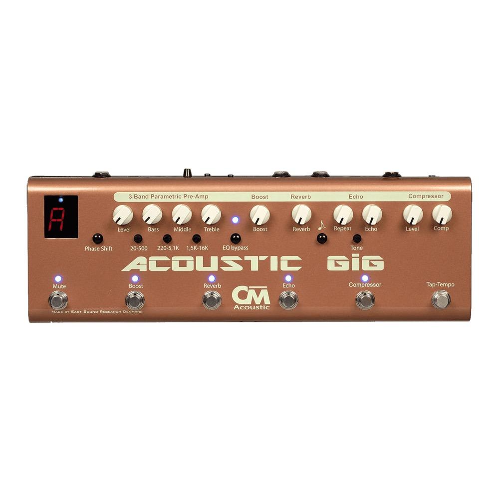 Carl Martin Acoustic GIG アコースティックギター用 マルチエフェクトペダル