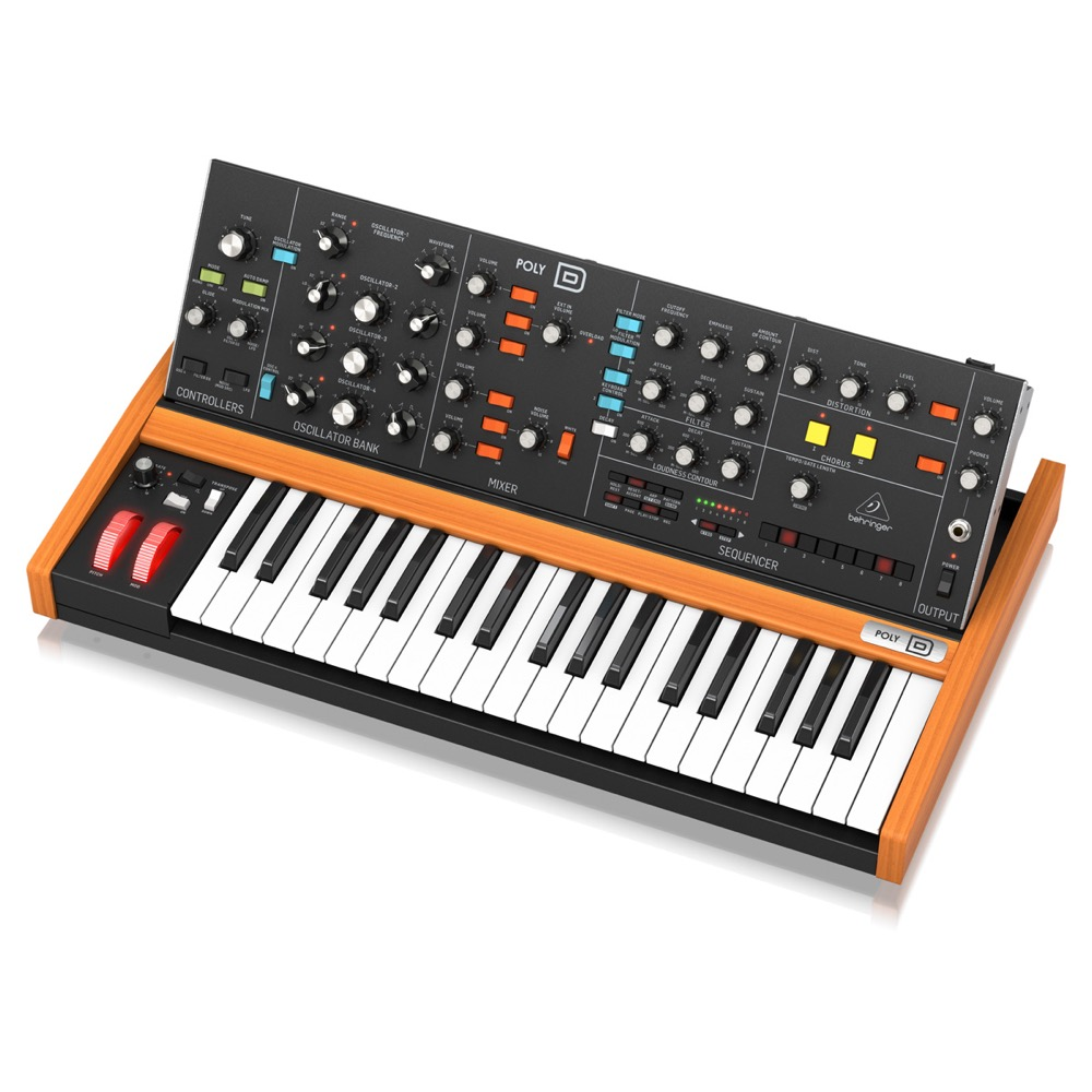 BEHRINGER POLY-D アナログシンセサイザー