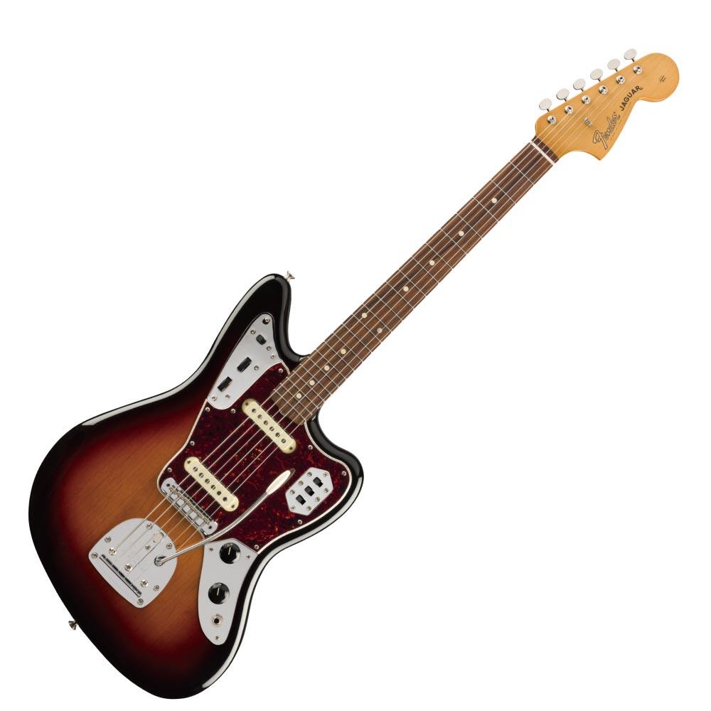 Fender Vintera '60s Jaguar PF 3TS エレキギター