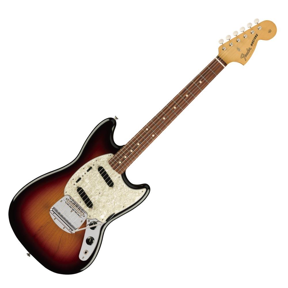 Fender Vintera '60s Mustang PF 3TS エレキギター